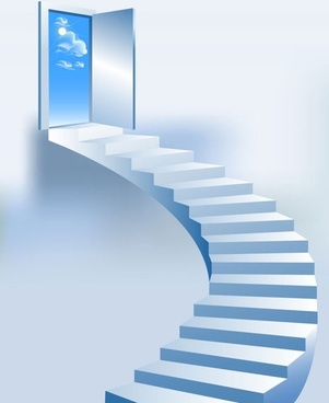 creative ladder pattern 02 vector