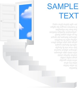 creative ladder pattern 03 vector