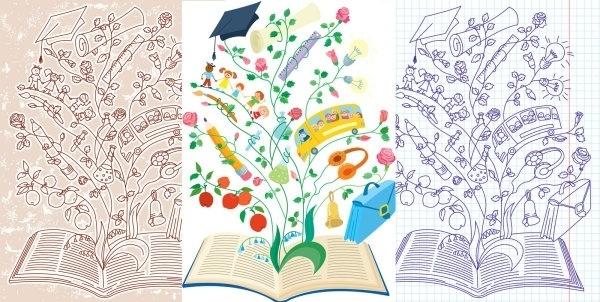 creative learning illustrator vector