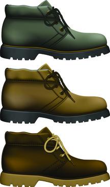 creative low shoe vector graphics