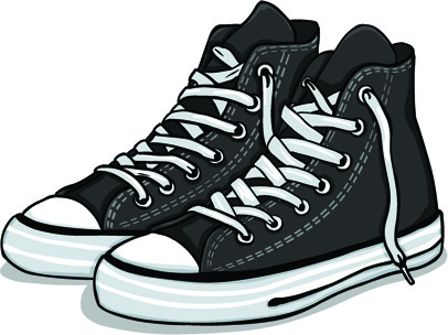 creative low shoe vector graphics