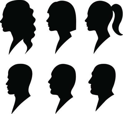 man silhouette free vector download 7 787 free vector for rh all free download com face silhouette vector face profile silhouette vector