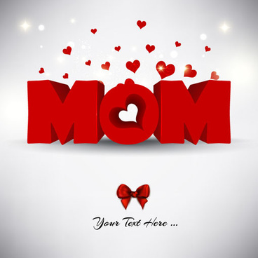 creative mother day design vector background