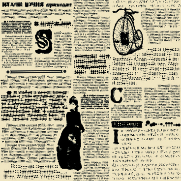 creative newspaper design elements vector set