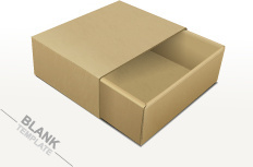 Creative Package Box Template Vectors Set