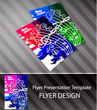 creative postcard design elements vector set