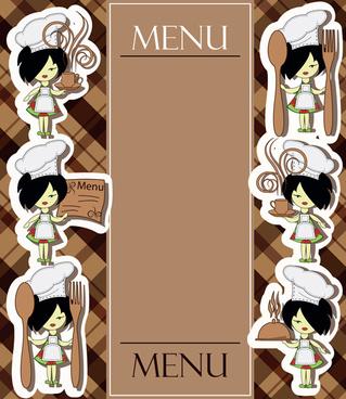 Creative Menu Cover Design Free Vector Download Free Vector - Creative menu design templates