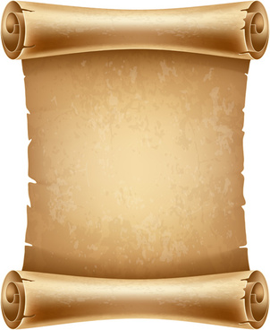 Scroll paper vector free vector download (5,529 Free ...