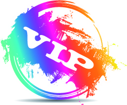 creative stamp logo vector