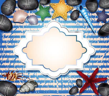 creative travel photos background vector
