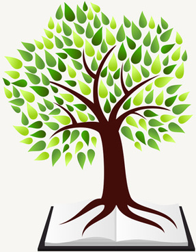 creative tree logo vector graphics