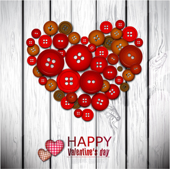 creative valentine cards vector graphics