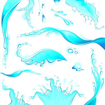 creative water art backgrounds