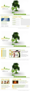 creative web templates psd layered