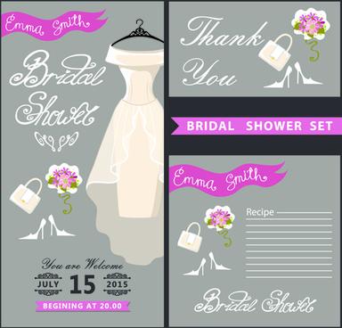 Vector wedding invitation postcard free vector download 3269 free creative wedding invitation and postcard vector stopboris Choice Image