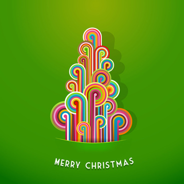 creative xmas elements vector cards