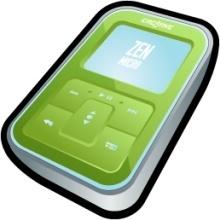 Creative Zen Micro Green