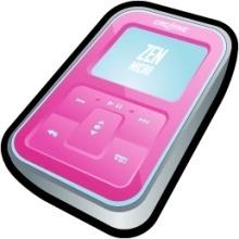 Creative Zen Micro Pink