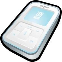 Creative Zen Micro White