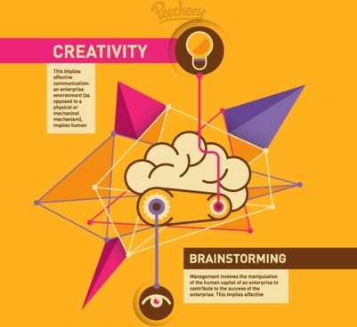 creativity and brainstorming concept