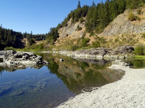 creek water scenery