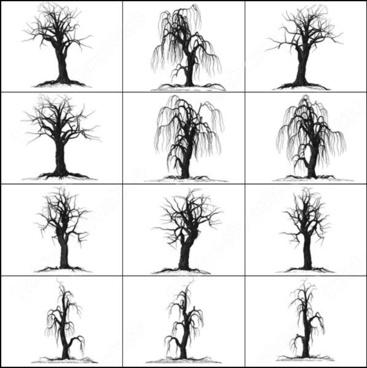 creepy tree brush
