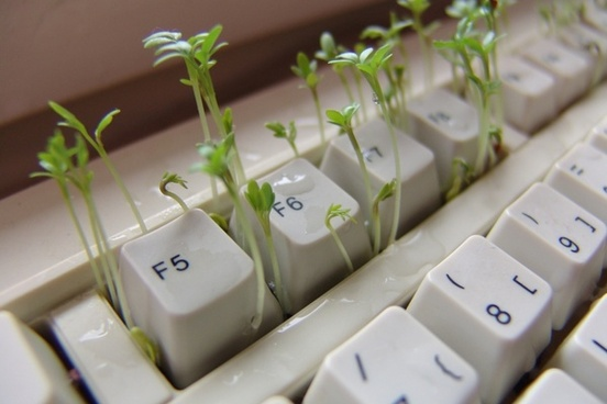 cress keyboard computer