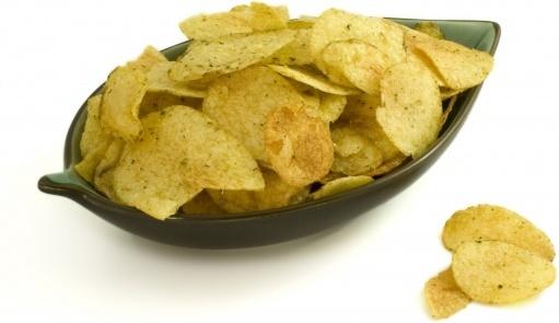crisps bowl salt