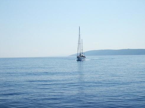 croatia at sea adriatic sea