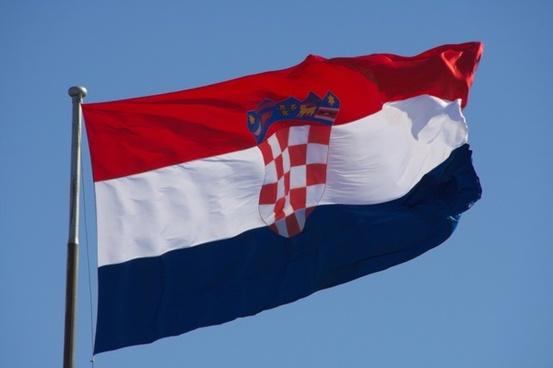 croatia flag croatian flag