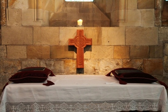 cross and altar