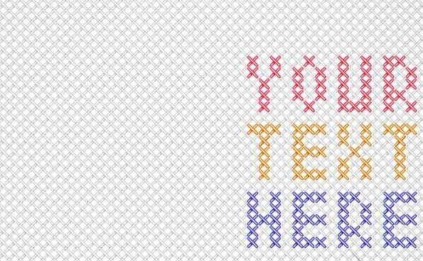 cross stitches pattern background