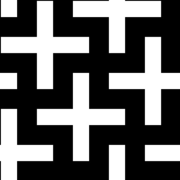 Crosses Pattern clip art