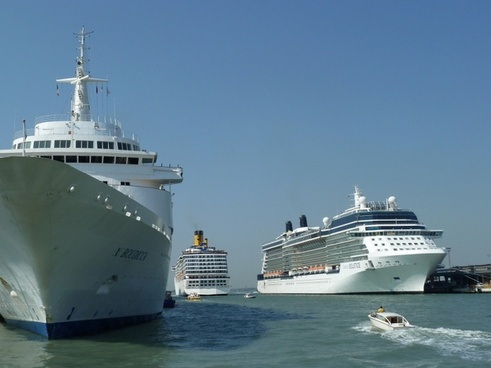 cruise ship mediterranean sea