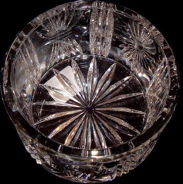 crystal bowl crystal glass glass