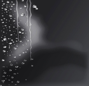 crystal clear water drops 04 vector