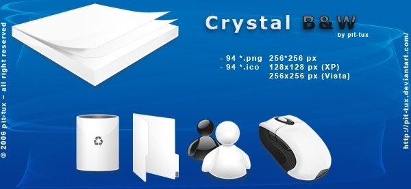 Crystal Icons icons pack