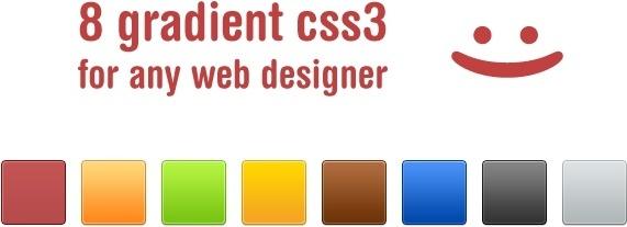CSS Gradient Set