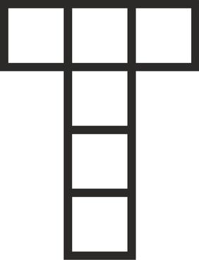 Cube unfolded as Tau