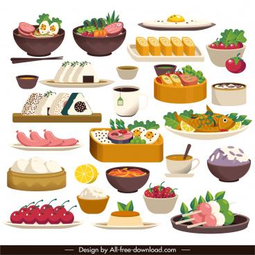 cuisine background oriental japanese decor