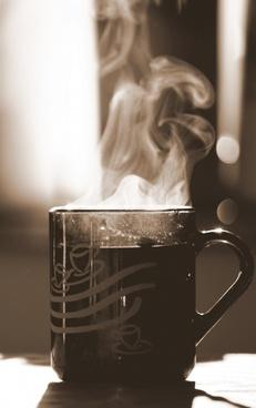 cup tea breakfast