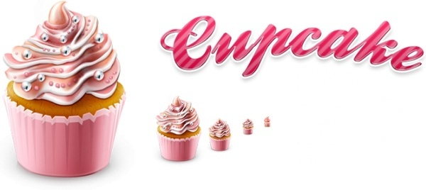 Cupcake icon icons pack