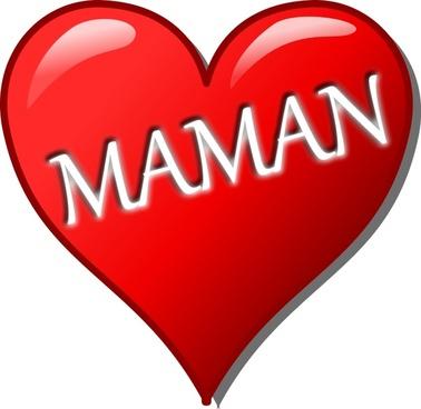 Cœur pour la Fête des Mères