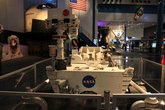 curiosity rover in houston texas