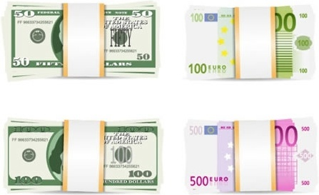 currency euro vector