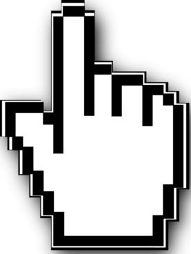 Cursor Hand  clip art