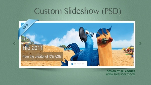 Custom jQuery Slideshow