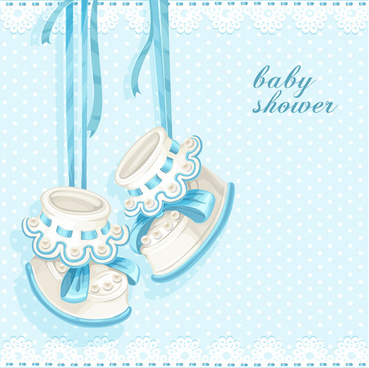 cute baby objects design elements