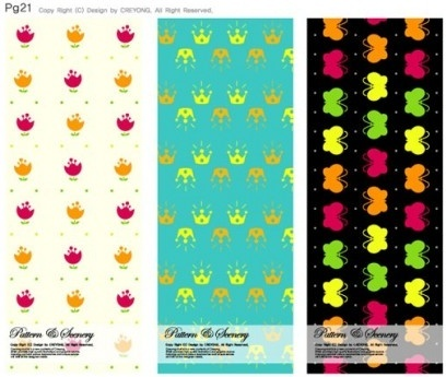 cute background series vector
