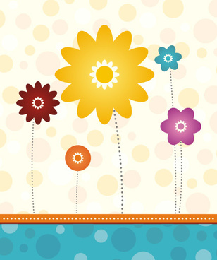 cute card vector graphic